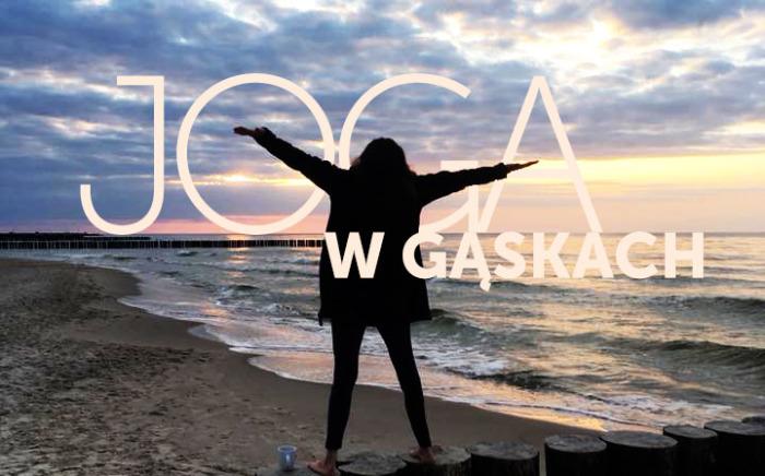 Joga w Gąskach na Morzem Bałtyckim