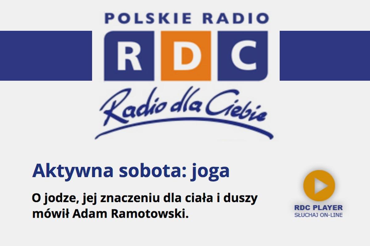 """Adam Ramotowski z Joga Foksal i Brackaw """"Trójce"""" w III programie Polskiego Radia"""