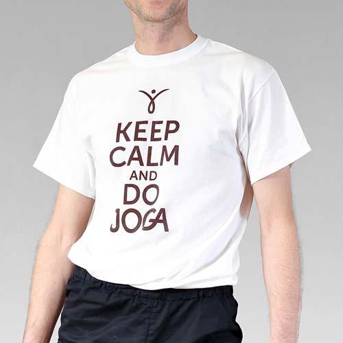 Koszulka męska do jogi