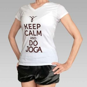 Koszulka do jogi damska
