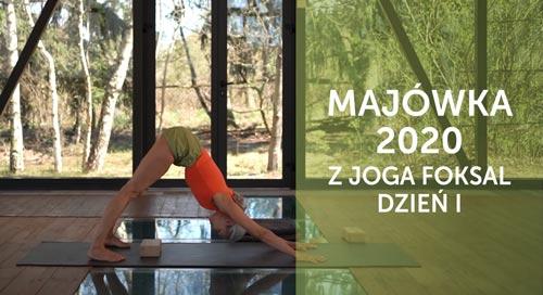 Majówka z jogą w Ojrzanowie 2020