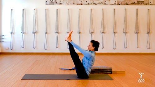 Małgorzata Pieczyńska ćwiczy jogę z Joga Foksal