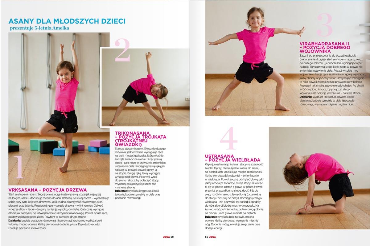 Joga na zdrowie - joga dla dzieci
