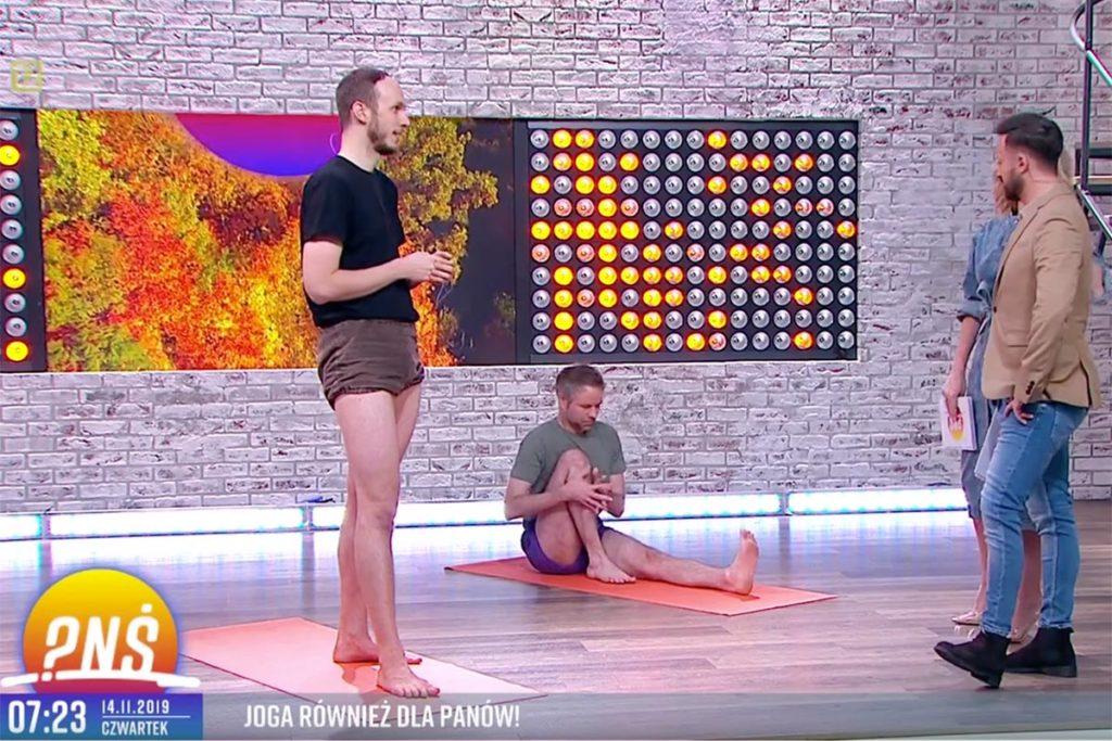 Jacek Kociołek opowiada o jpdze dla mężczyzn na antenie TVP2