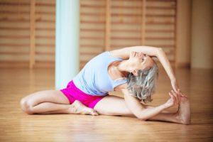 Wygodny strój do jogi